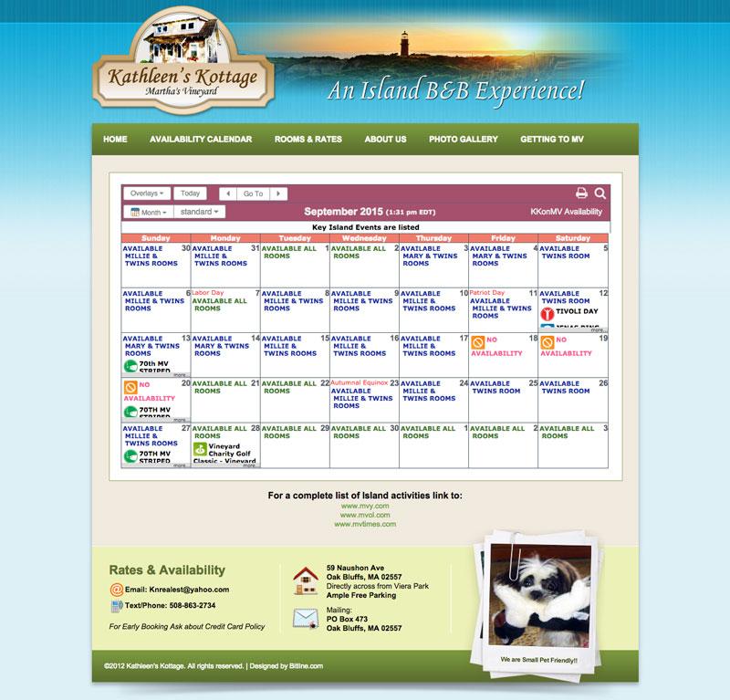 Easily Add an HTML Calendar to your Website | KeepandShare