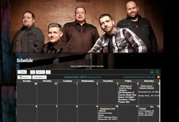 Russell Moore Band calendar