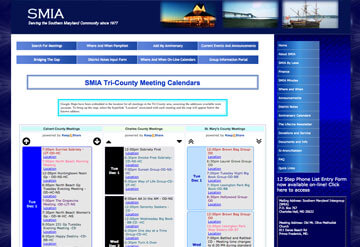 SMIA Tri-County Meetings calendar