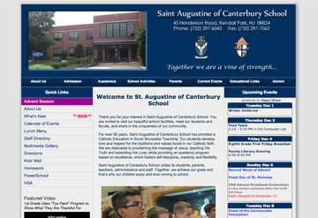 Saint Augustine of Canterbury School calendar