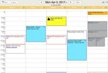 CEO appointment calendar