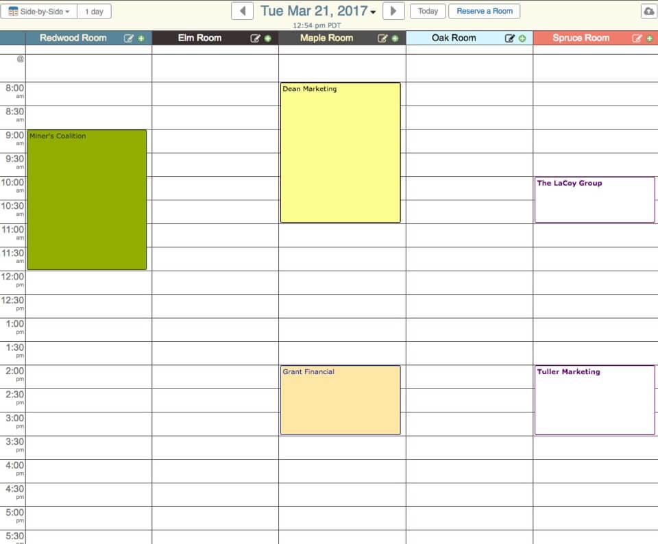 hour by hour calendar