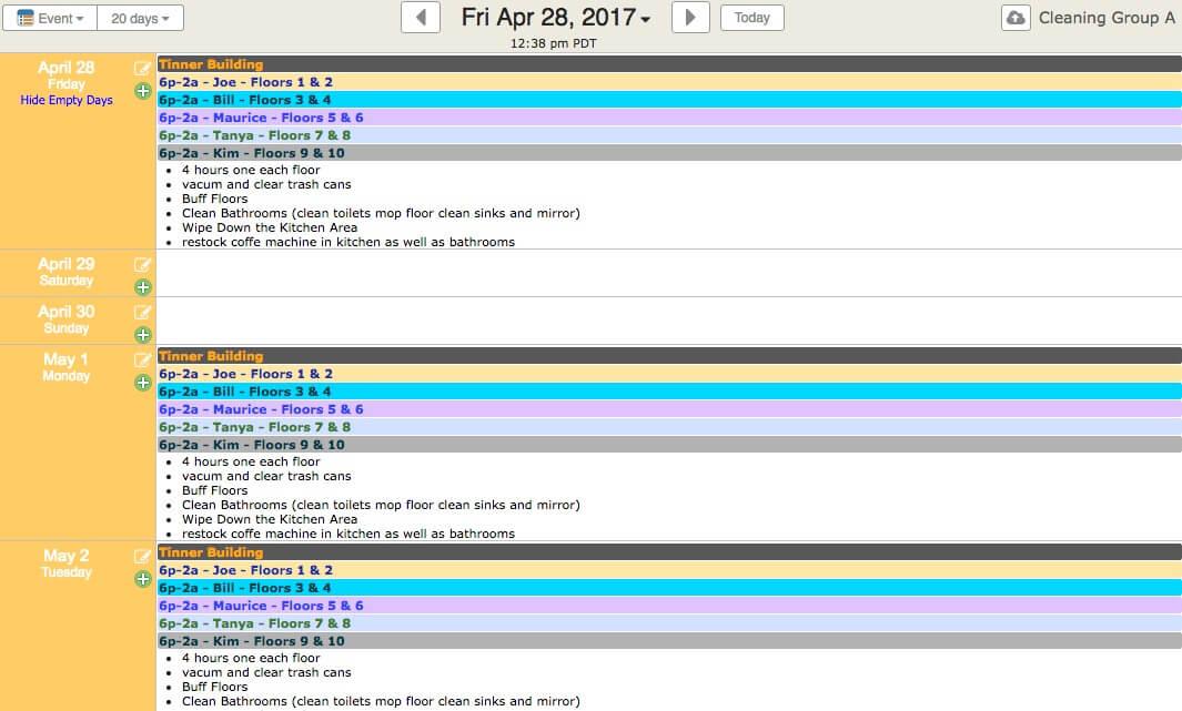 employee scheduling software online schedule maker