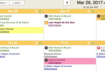 make monthly calendar online