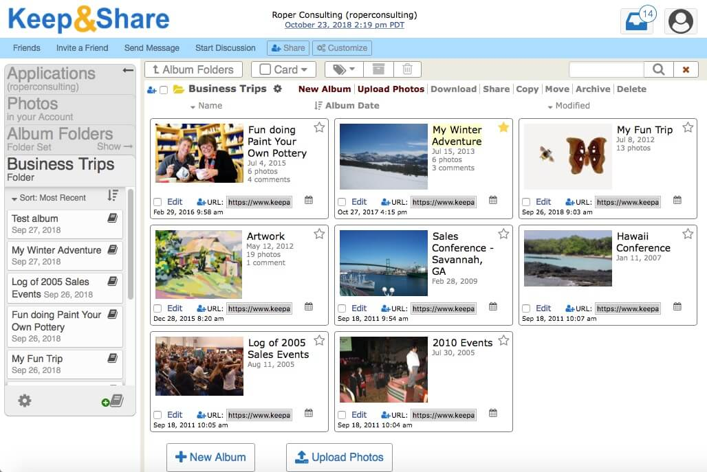 Secure Online Photo & Photo Album Sharing   KeepandShare