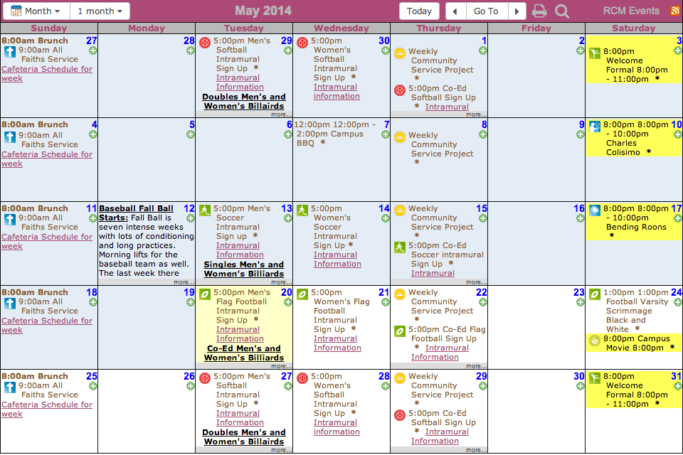 weekly event calendar template - Akba.greenw.co